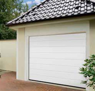 Hormann lpu40 m profilering silkgrain 2500 mm breed for Porte de garage lpu 40